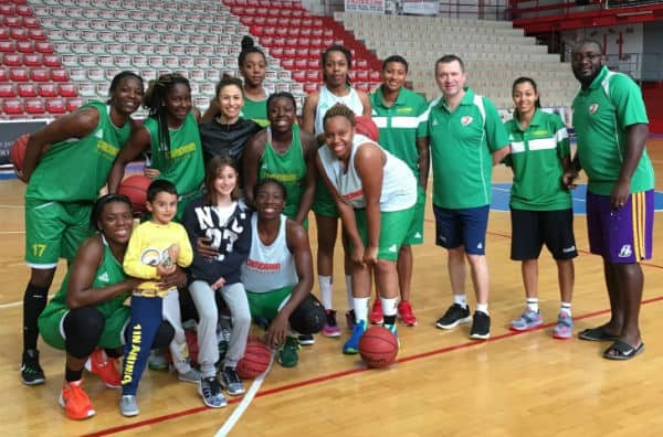 nazionale basket femminile cameroon
